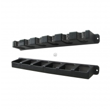 Berkley - Vertical Rod Rack 35cm - Black