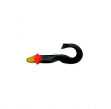 Black Cat - Baby Cat 25cm 90g - Flamed Black