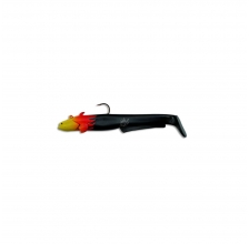 Black Cat - Baby Cat Shad 18cm 35g - Flamed Black