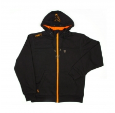 Fox - Black/Orange Heavy Lined Hoody