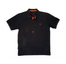 Fox - Black/Orange Polo Shirt