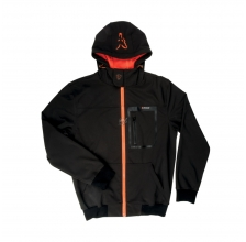Fox - Black/Orange Softshell Hoody