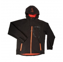 Fox - Black/Orange Softshell Jacket