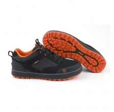 Fox - Black & Orange Trainers