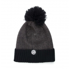 Fox - Bobble Hat - Grey/Black
