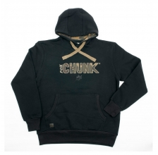 Fox - Chunk Camo Applique Hoody Black