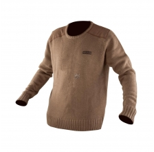 Fox - Chunk Heavy Knit Jumper Khaki
