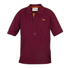 Fox - Chunk Polo Shirt Burgundy/Orange