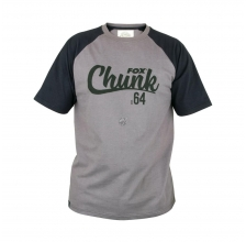 Fox - Chunk T-Shirt Black/Grey