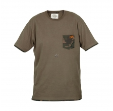 Fox - Chunk T-Shirt Khaki Camo Pocket