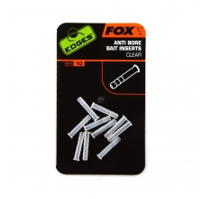 Fox - Edges Anti-bore Bait Inserts Clear