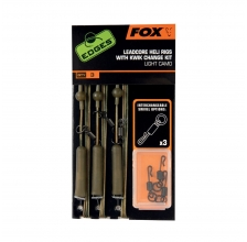 Fox - Edges Light Camo Leadcore Heli Rigs - Kwik Change Kit