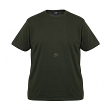 Fox - Green & Black Brushed Cotton T-Shirt