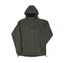 Fox - Green & Black Softshell Jacket