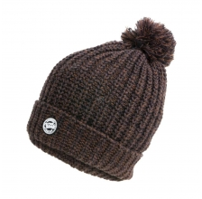 Fox - Heavy Knit Bobble Hat - Camo