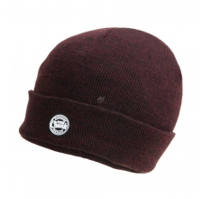 Fox - Marl Beanie - Burgundy/Black