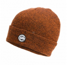 Fox - Marl Beanie - Orange/Black