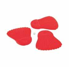 Fox Rage Cat - Power Grip Bait Fins Red