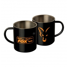 Fox - Stainl. Steel Mugs
