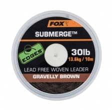Fox - Submerge lead free leader brown 10m
