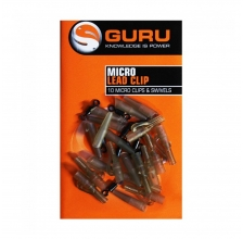 Guru - Micro Lead Clip Swivels & Tail Rubbers