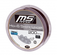 MS RANGE - High-S Shock Leader 200m