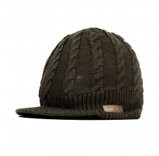 Navitas - Cable Knit Peake Beanie Green