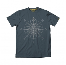 Navitas - Direction Tee Grey Marl