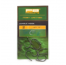 PB Products - Jungle Hook Dull Black Finish 10pcs