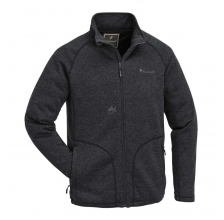 Knitted Jacket Pinewood Gabriel Membrane Dark Grey