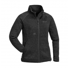 Pinewood - Knitted Jacket Gabriella Membrane Dark Grey -...