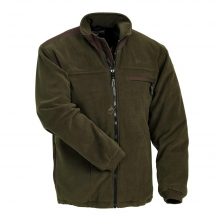 Pinewood - Ontario Fleece Jacke Brown