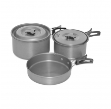 Trakker - Armo 3 Piece Cookware Set