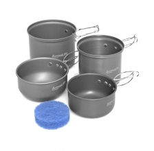 Trakker - Armo 4 Piece Cookware Set