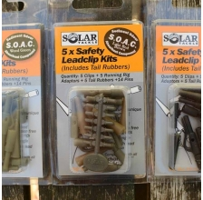 Solar Tackle - Safety Leadclip Kit