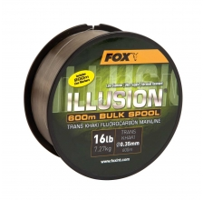 Fox - Illusion Mainline 600m Bulk Spool 19lb - Trans Kahki