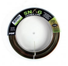Fox - Snag Leader Line 100m - Camo