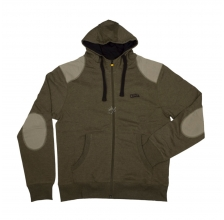 Fox - Chunk Zipped Hoody Khaki