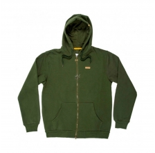 Navitas - Low Key Zip Hoody Green