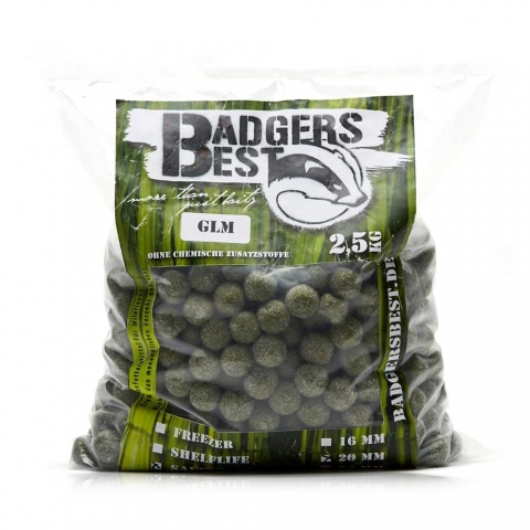 Badgers Best - GLM 2,5kg - 20mm