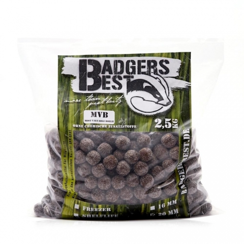 Badgers Best - Most Valuable Boilie (MVB) - 16mm 2,5kg