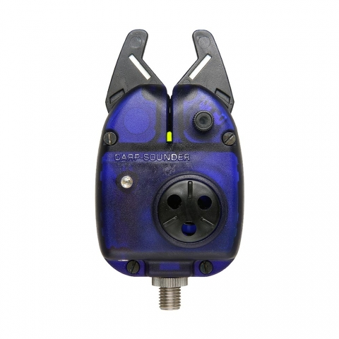 Carp Sounder - NX Dark Neon Blue - LED gelb