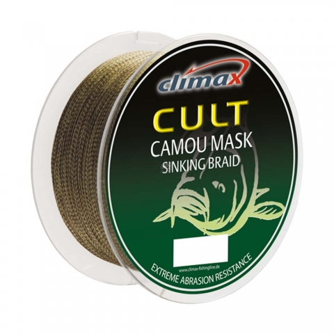 Climax - Cult Camou Mask Sinking Braid (Grossspule) - 0,18mm