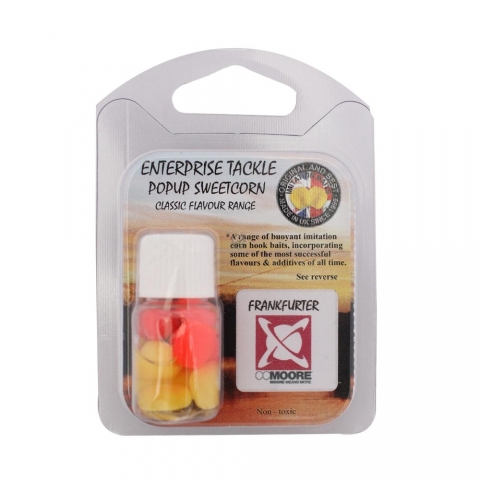 Enterprise Tackle - Classic Flavour Range - Frankfurter - Yellow/Fluoro Red