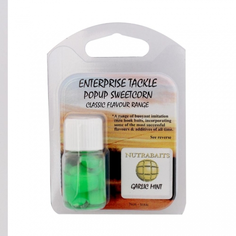 Enterprise Tackle - Classic Flavour Range - Nutrabaits Garlic Mint - Fluoro Green