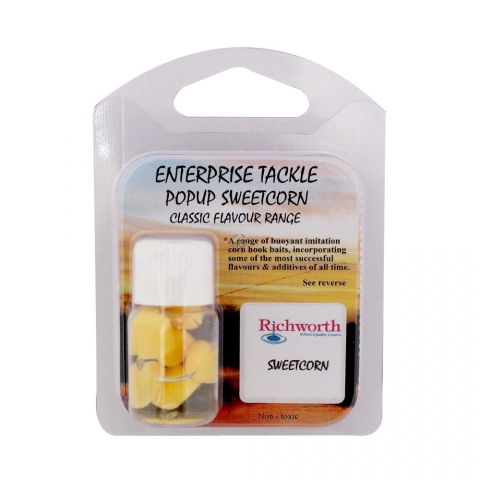 Enterprise Tackle - Classic Flavour Range - RIW Sweetcorn - Yellow