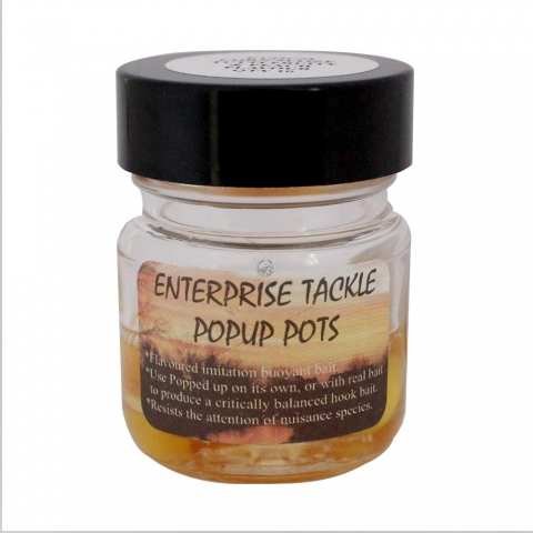 Enterprise Tackle - Pop Up Pots - Corn + Maize - Tutti Frutti & Peach Liquid