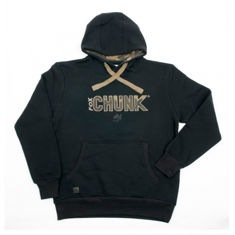 Fox - Camo Applique Hoody Black - Size S