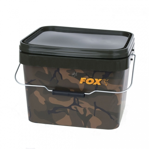 Fox - Camo Square Bucket 10 Liter