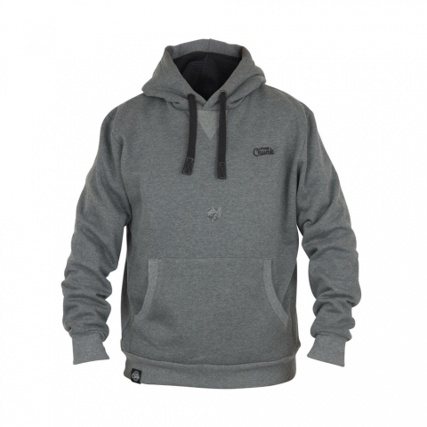 Fox - Chunk Ribbed Hoody Grey # 3XL